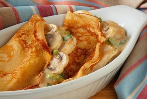 Chicken And Mushroom Crepes Recipes Com Au